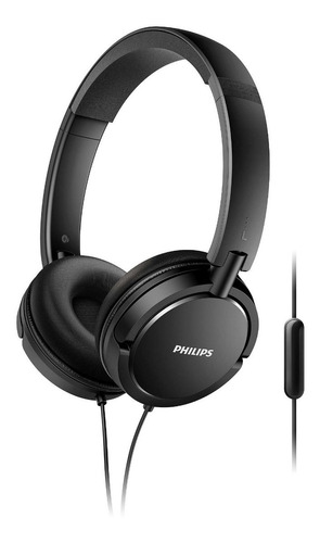 auriculares on ear philips con microfono shl5005/00