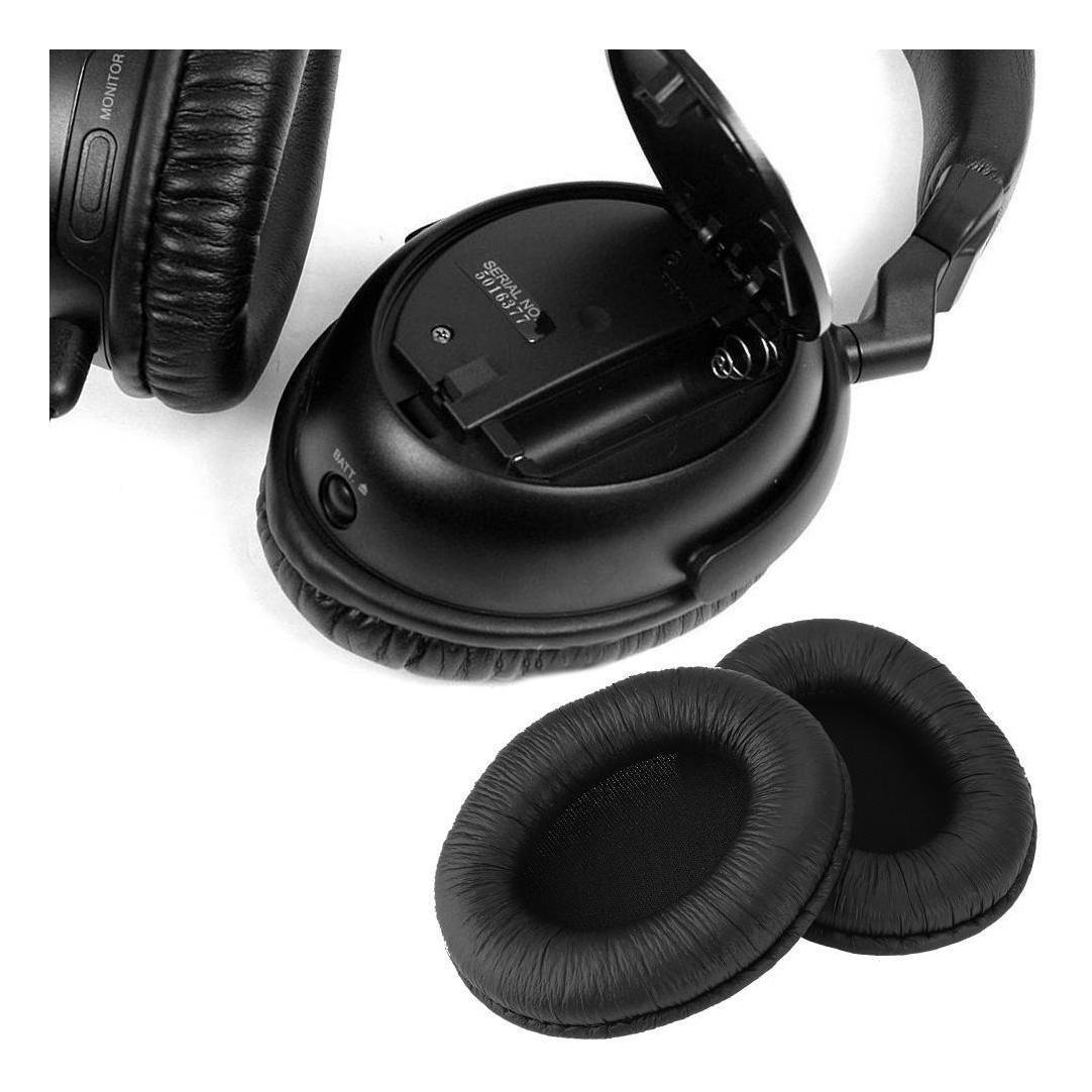 Almohadillas de Piel para Auriculares Yamaha RH5MA Negro Orejeras