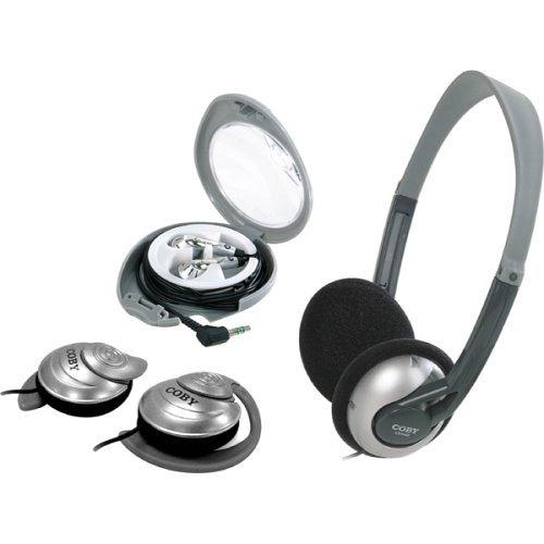 auriculares para colocar sobre las orejas,coby cv321 3-i..