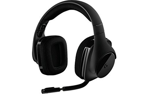 auriculares para computadora,logitech g533 wireless gami..