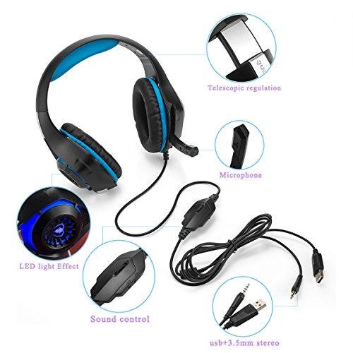 auriculares para juegos cocar, bajo auriculares mejorado pa