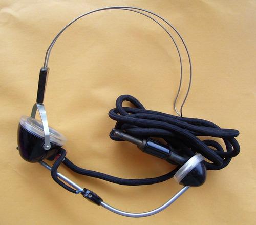 auriculares para telefono antiguo  vintage coleccionable