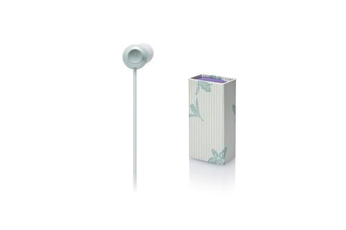 auriculares para teléfono audio technica ckf300 blanco
