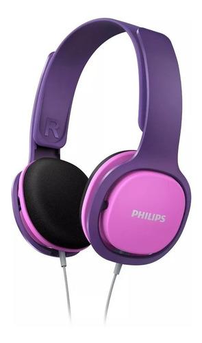 auriculares philips para niños shk2000pk/00