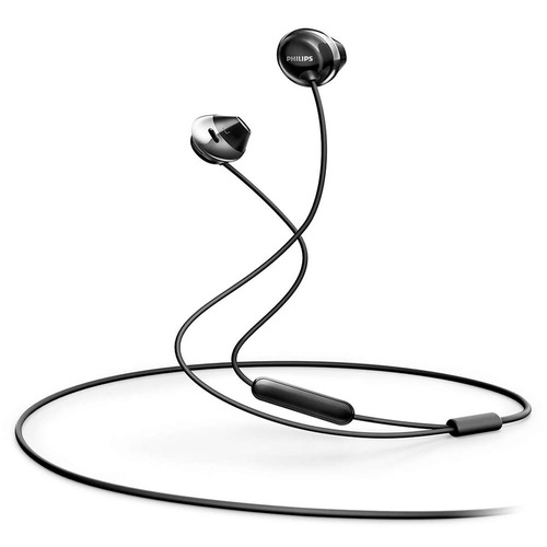 auriculares philips she4205bk/00 negro