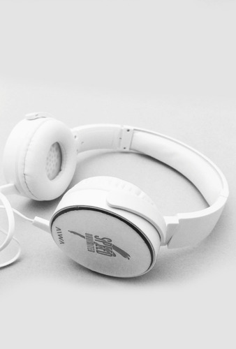 auriculares plegables blanco/negro speed unlimited aiwa