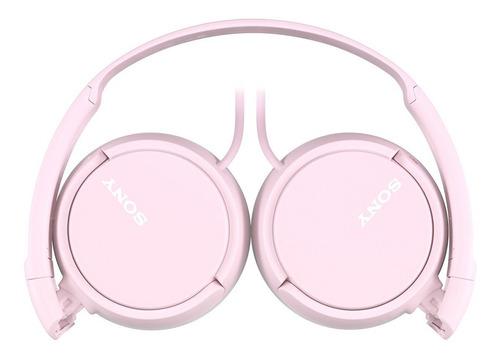 auriculares plegables dinámicos sony mdr-zx110-p (rosa)