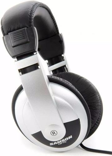 auriculares profesionales dj samson hp10 monitoreo cerrados
