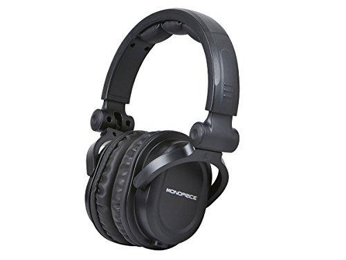 auriculares profesionales monoprice premium hi-fi dj estilo