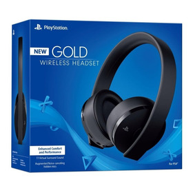 Auriculares Ps4 Sony Playstation Gold Wireless Headset 7.1