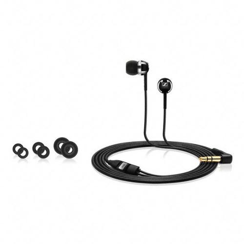 auriculares sennheiser  cx 1.0 in ear wired black