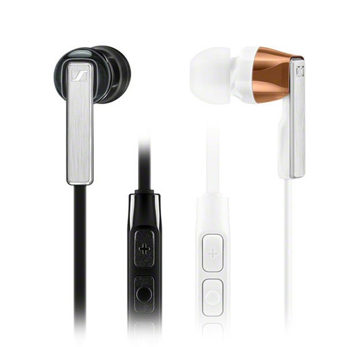 auriculares sennheiser  cx 5.0 in ear wired w/mic black