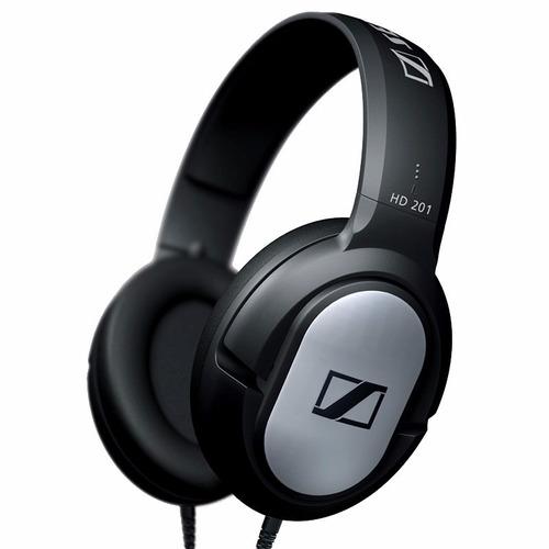 auriculares sennheiser hd 201 hi fi ideal celulares dinamico
