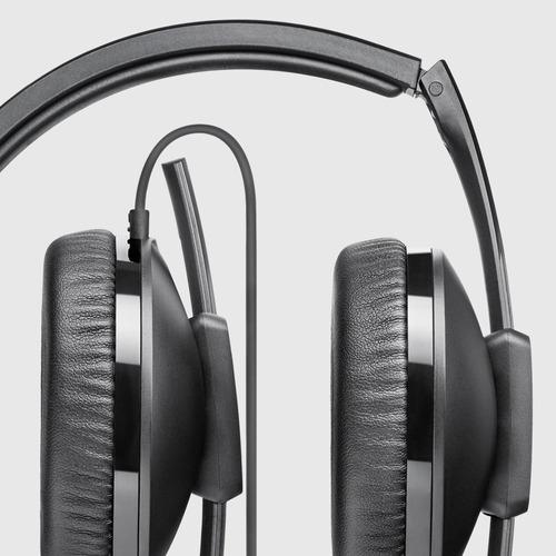 auriculares sennheiser hd 2.10, plegables, conector 3.5mm
