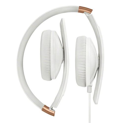 auriculares sennheiser hd 2.30g, plegables, micrófono, conec