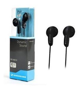 auriculares sennheiser mx400 b negros liviano tipo in ear