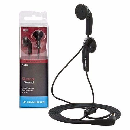 auriculares sennheiser mx80 oreja in ear estereo mp3 iphone