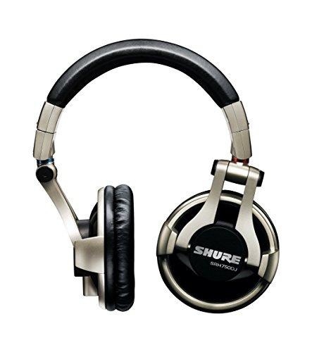 auriculares shure srh750dj- e (versión internacional )