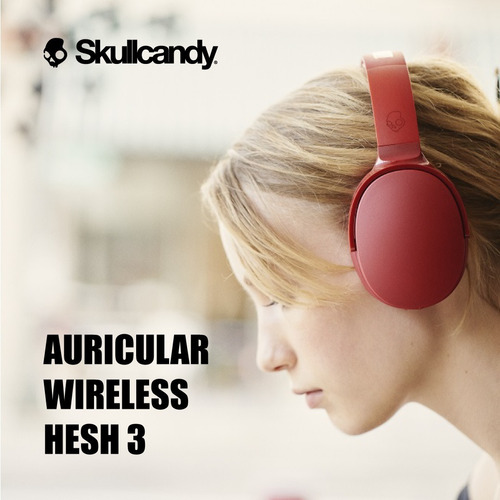 auriculares skullcandy hesh 3 wireless bluetooth original