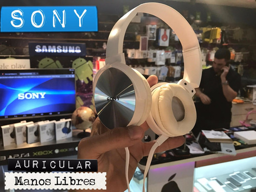auriculares sony  extra bass manos libres android local