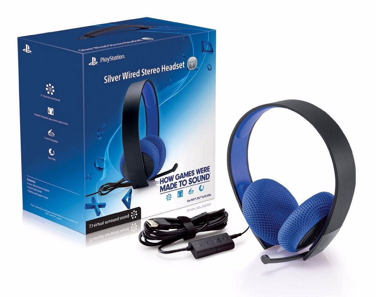 cascos sony ps4 7.1