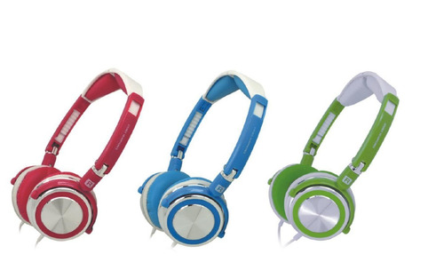 auriculares soundking hp-2372v abierto plegable 3,5mm