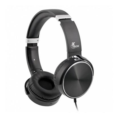auriculares spiral estereo con cable y microfono