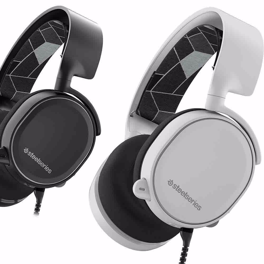 Auriculares Steelseries Arctis 3 7.1 Surround Sound Black