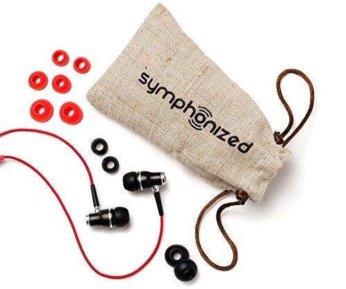 auriculares symphonized nrg (rojo)