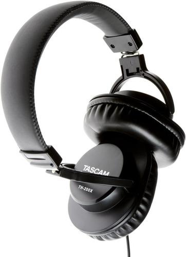 auriculares tascam th-200x audífono de estudio