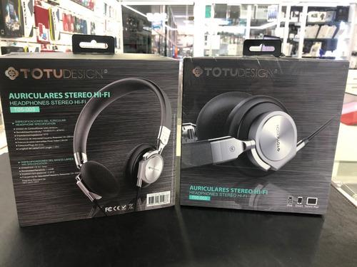 auriculares totu desing t005-003 stereo hi-fi con microfono