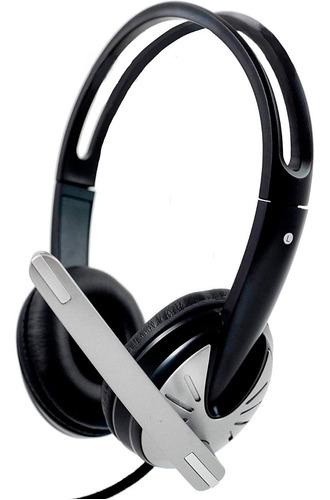 auriculares usb con microfono headset callcenter imicro