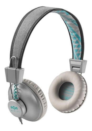 auriculares vincha house of marley positive vibration on ear