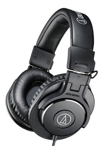 auriculares vincha profesional audio technica ath-m30x