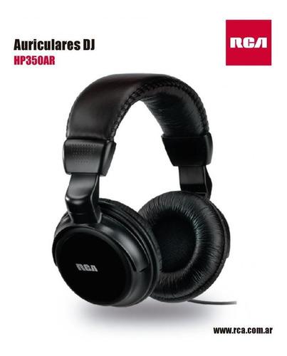 auriculares vincha rca hp350ar negros
