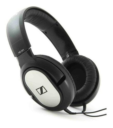 auriculares vincha sennheiser hd201 cerrados dj hifi estudio