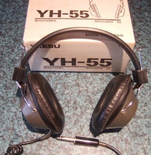 auriculares yaesu modelo yh55