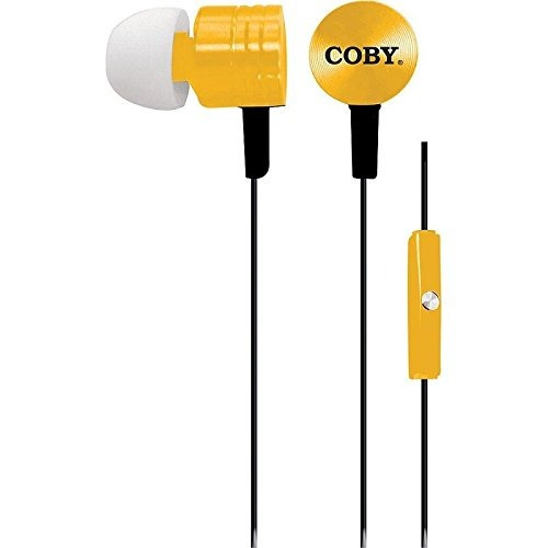 auricularescoby cv-e106gl auriculares estéreo metálicos c..