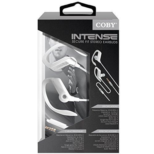 auriculares,coby micrófono incorporado, resistente al su..