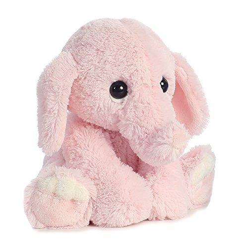 aurora 0 mundo lil benny elefante rosado peluche