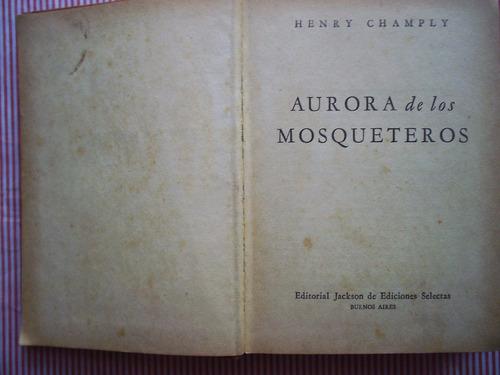 aurora de los mosqueteros   henry champly