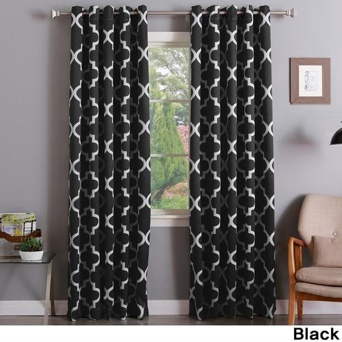 aurora home moroccan tile room-darkening cortina