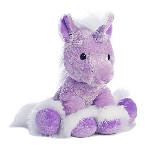 aurora world dreaming of you unicornio purpura pequeño