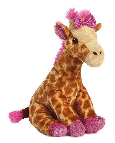 aurora world girlz nation pink sparkle jirafa felpa