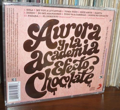 aurora y la academia cd efecto chocolate
