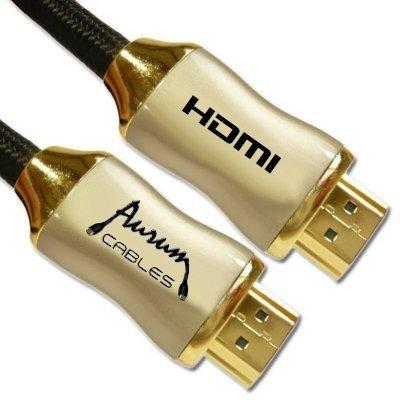 aurum - cable hdmi de alta velocidad (40 pies) con ethernet