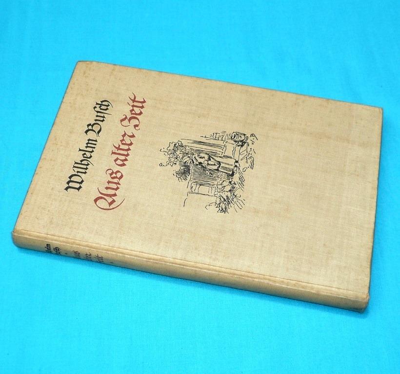 aus alter zeit wilhelm busch hans balzer insel leipzig 1936
