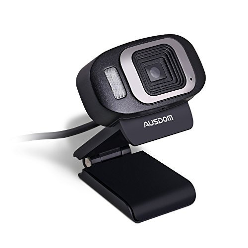 ausdom hd webcam usb 1080p cámara web de alta definición cá