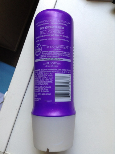 aussie 3minute miracle smooth