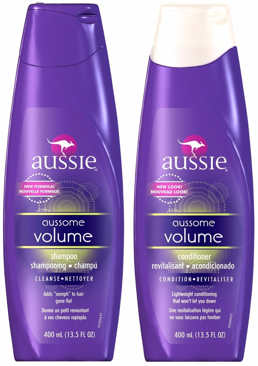 ae8a966c45 Aussie Kit Shampoo E Condicionador Aussome Volume 400ml - R  59